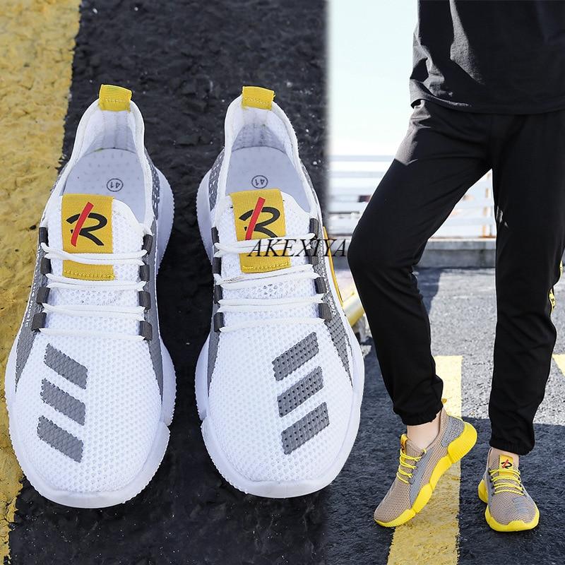 Zapatillas De correr ligeras para hombre, zapatillas transpirables ultraligeras De verano, Zapatos De Mujer para caminar, Zapato