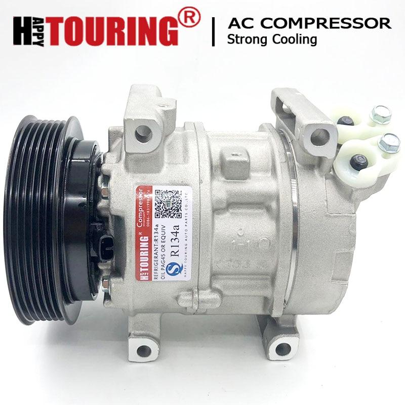 5SA12C ac компрессор для Aston Martin DB9 DBS 4G43-19D629-AA 6G33-19D629-AA 6G33-19D629-AB 447180-7460 4G4319D629AA 6G3319D629AA