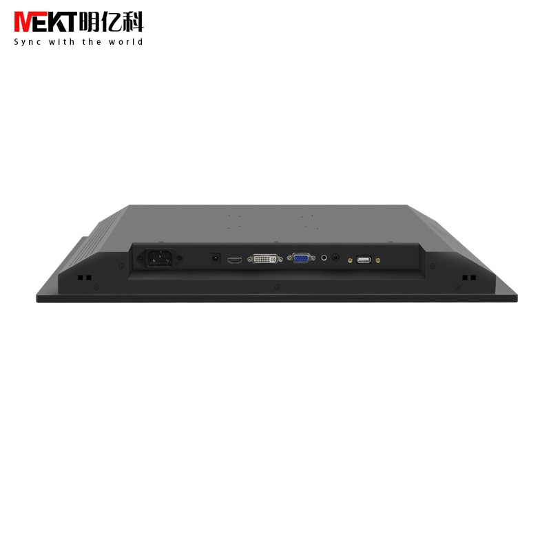 MEKT rack-mounted 17/19 inch capacitive multi-touch screen monitor/industrial touch computer display HDMI/DVI/VGA/USB