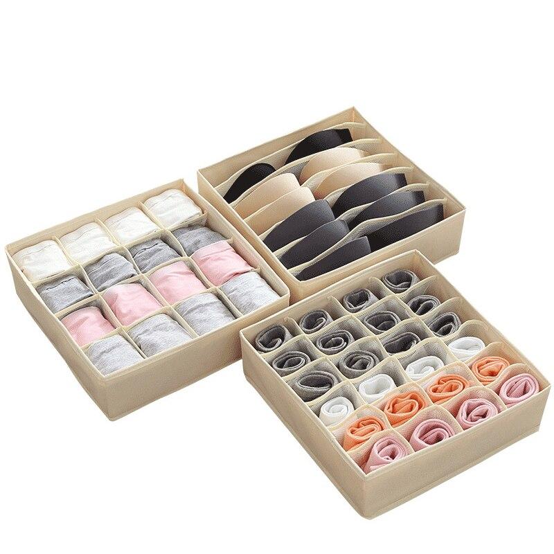 Для Хранения нижнего белья, коробка для бюстгальтеров, водонепроницаемый Orangizer Складной Большой Вместительный шкаф для спальни, шкаф для шкафа, ящик для отделки