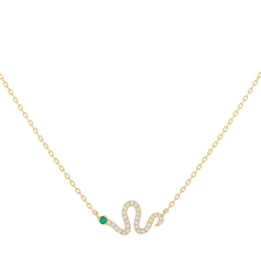Fino 925 prata esterlina jóias delicadas danity cz cobra charme mínimo bonito animal design prata colar feminino