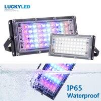 LUCKYLED Led Flood Light 50w Waterproof IP65 Outdoor Led Light 220v Led Refletor Street Lamp Led Spotlight Garden Wall Lamp