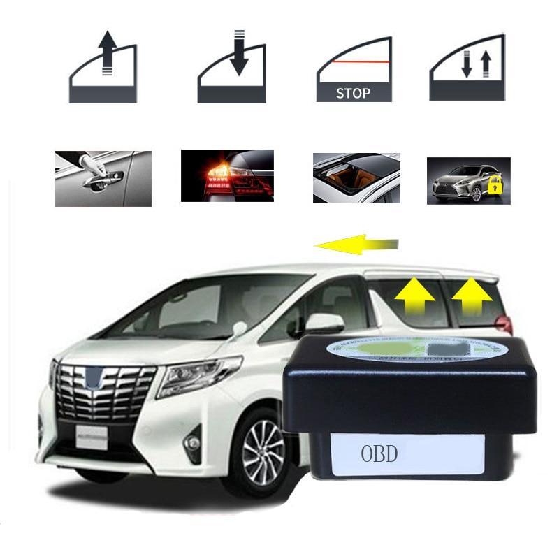 Intelligent window for Toyota Alphard automatic door closer automatic lock device window closer automatic car accessories