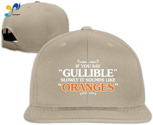 Yellowpods It Sounds Like Oranges Men's Relaxed Medium Profile Adjustable Baseball Cap