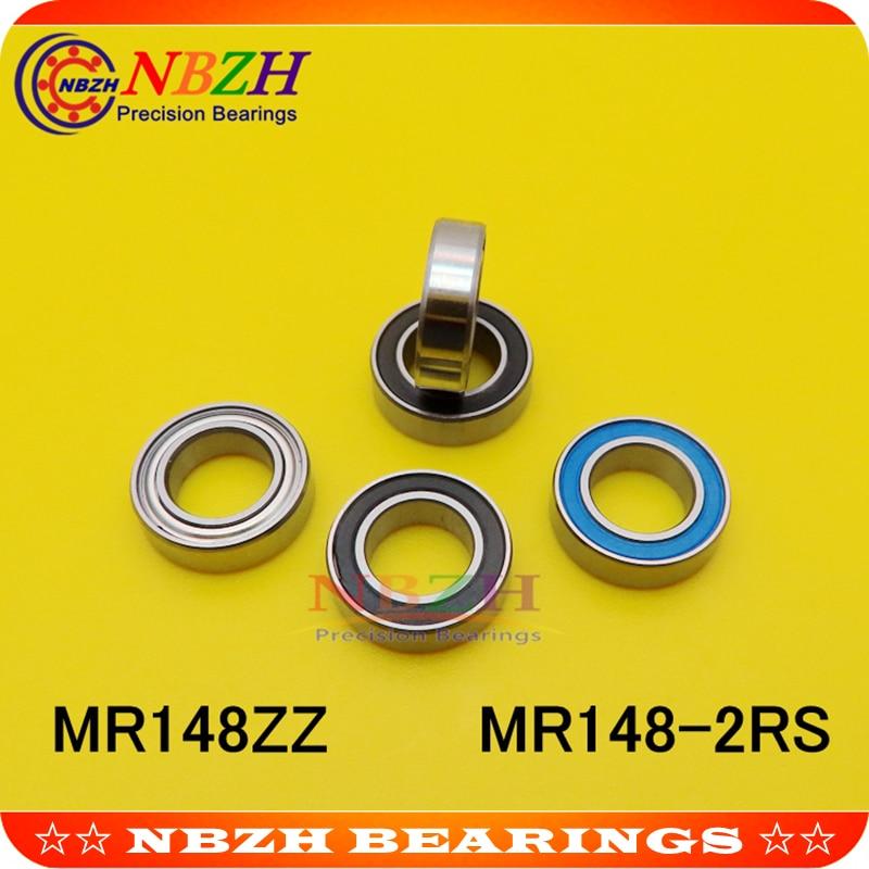 MR148 MR148ZZ MR148RS MR148-2RS SMR148ZZ SMR148-2RS ZZ RS RZ 2RZ L-1480ZZ łożyska kulkowe głębokorowkowe 8x14x4mm wysokiej jakości