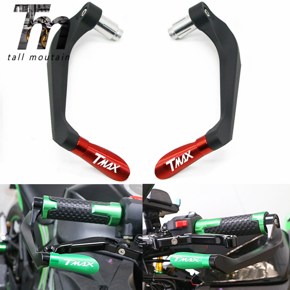 for yamaha tmax 500 tmax500 t max 500 2008 2009 2010 2011 cnc motorcycle brake clutch levers For YAMAHA TMAX530 TMAX500 T-MAX 530 500 TMAX 530 XP530 7/822MM Motorcycle Handlebar Grips Brake Clutch Levers Guard Protector