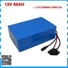 450W 12 V 60AH batterie 12 V 60AH 60000MAH Lithium ion batterie 50A BMS pour 12 V 3S Ebike batterie 12.6V 5A chargeur