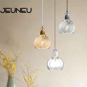 Modern Modern Creative Pendant Light E27 LED Single Head Pendant Lamp for Living Room Dining Room Bedroom Study Restaurant Cafe