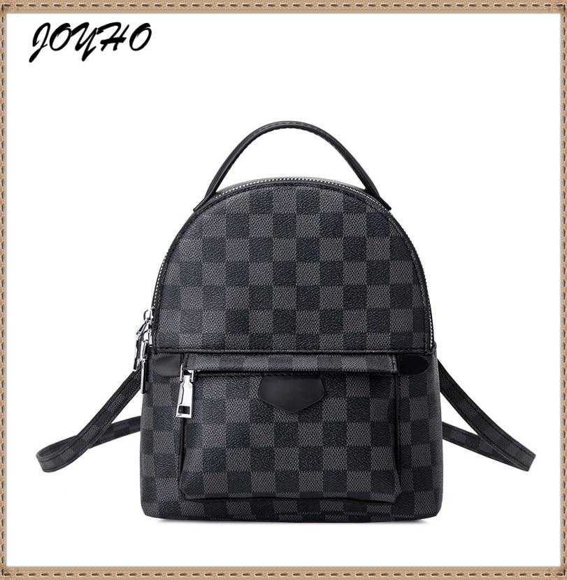 Fashion Women Shoulders Small Backpack Mini Backpack Mobile Phone Simple Ladies Travel Bag Student School Backpacks Mochila