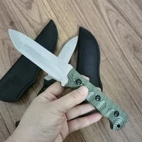 fixed blade knife new high hardness steel survival straight knife self defense dedtools for outdoor camping