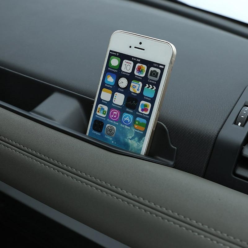 For Land Rover Defender 110 2020-2022 ABS Black Car Co-pilot Storage Box Glove Armrest Box Mobile phone box Car Accessories enlarge