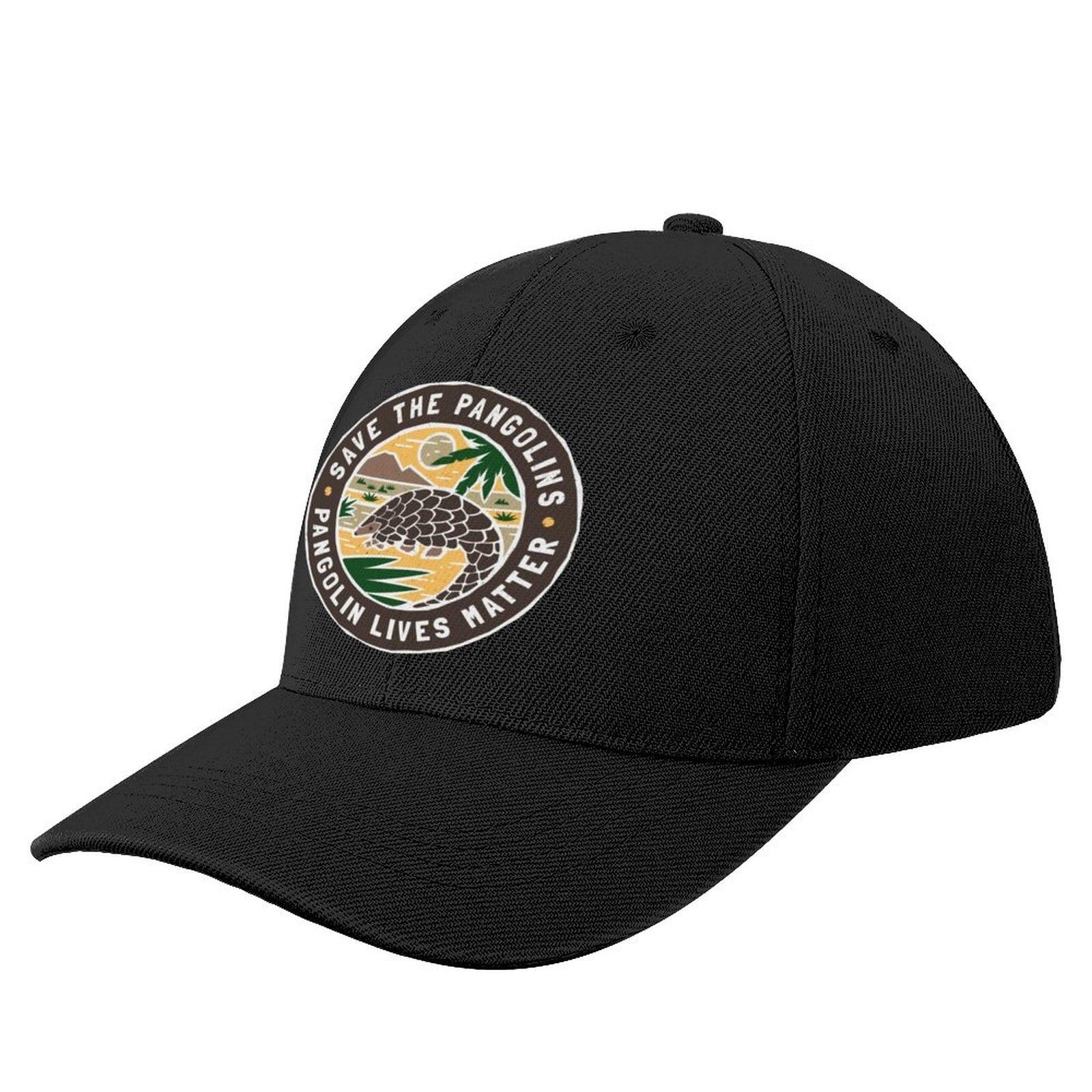 Кепка для защиты панголинов, бейсболка, Кепка с защитой от солнца, кепки с козырьком, Регулируемая Кепка для мужчин и женщин