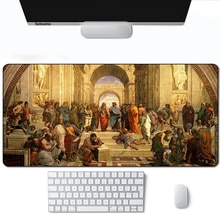 Mouse pad gamer carpet notbook computer mousepad Classical Painting gaming mouse pads gamer keyboard