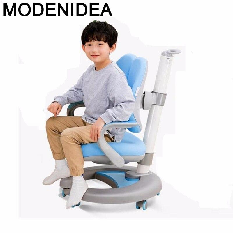 Mesa para niños Sillones Infantiles Silla Madera Cadeira Infantil ajustable bebé niños...