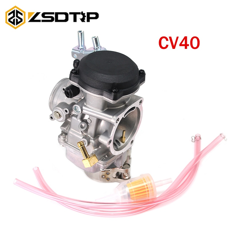 ZSDTRP CV40 carburador para Harley Davidson Sportster Road King Super Glide 40mm CV 40 XL883 27490-04 27465-04 carbohidratos