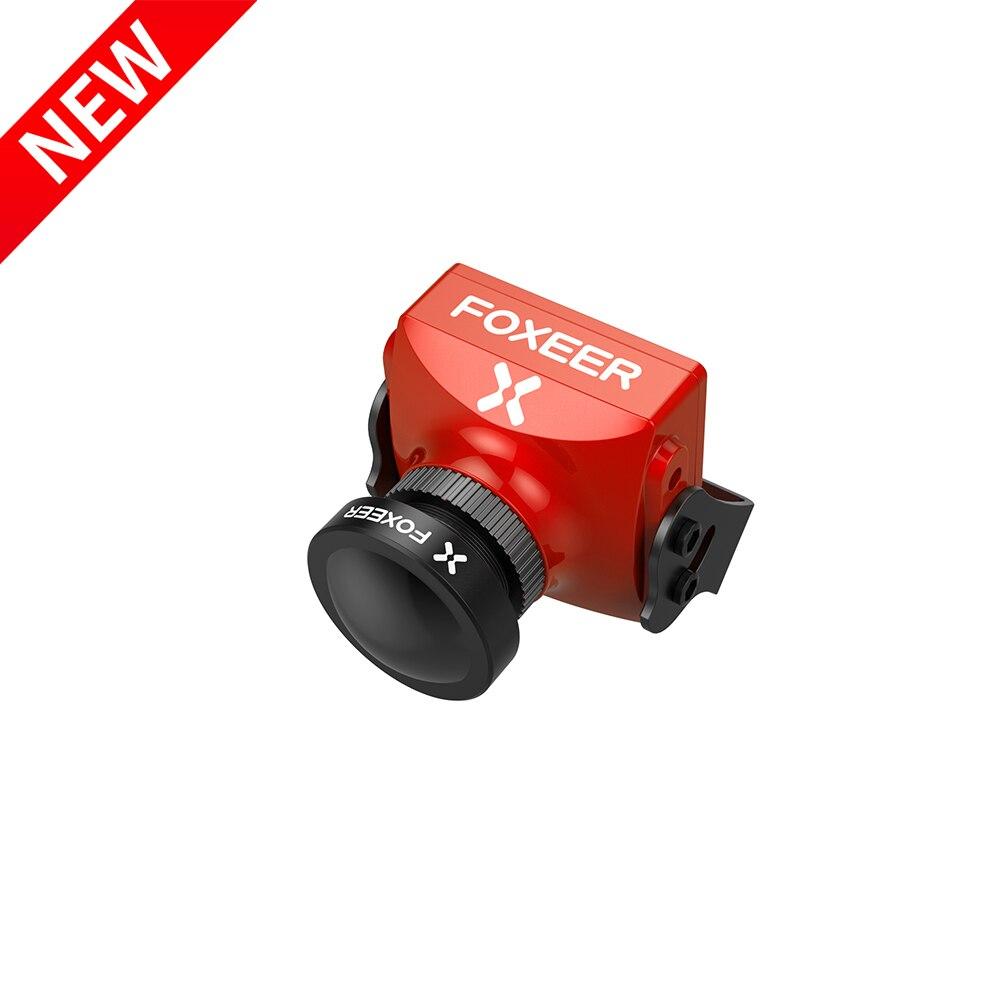Nova Chegada Foxeer Falkor 2 1200TVL FPV Câmera CMOS 1/3 43 169 PAL/NTSC Comutável G-WDR DC 5-40V para Multirotor Zangão de Corrida