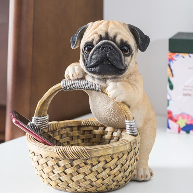 صندوق تخزين تمثال كلب لابرادور كورجي ، كلب ، Shiba Inu ، نحت فني للحيوانات ، راتينج ، مدخل ، مفتاح ، ديكورات ، 1650633
