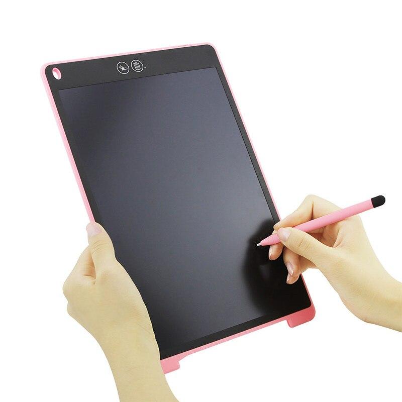 """12 """"lcd escrita tablet digital desenho tablet almofadas de escrita portátil eletrônico tablet placa presente para crianças"""