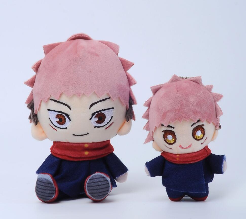 10cm-15cm Jujutsu Kaisen Yuji Itadori Anime Plush Toy Stuffed Toy keychain