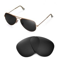 Walleva Polarized Replacement Lenses for Ray-Ban Aviator RB3025 58mm Sunglasses USA shipping