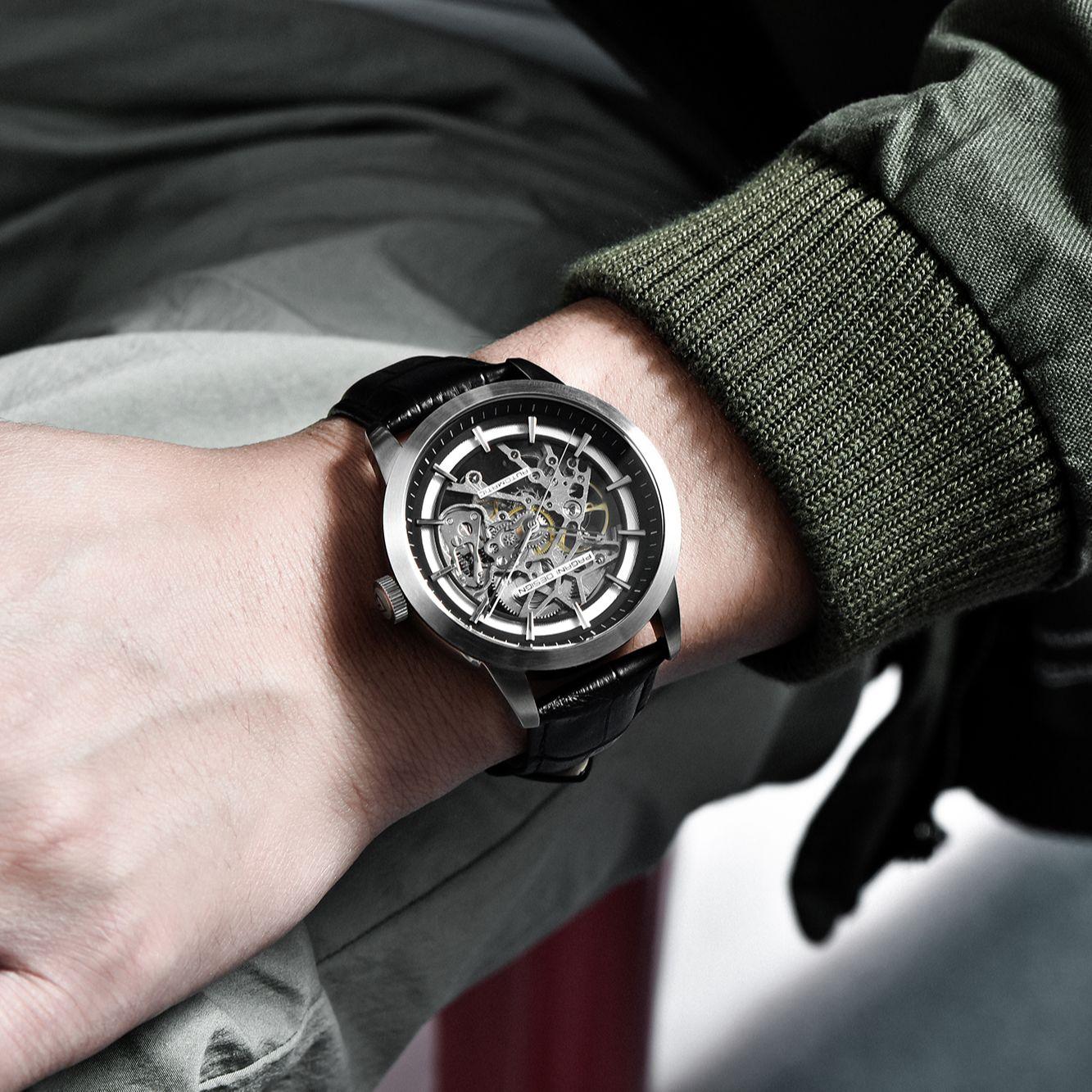 2021 Pagani Design Top Brand Watch Men's Automatic Mechanical Watch Fashion Sports Leather Waterproof Watch Luxury Reloj Hombre enlarge