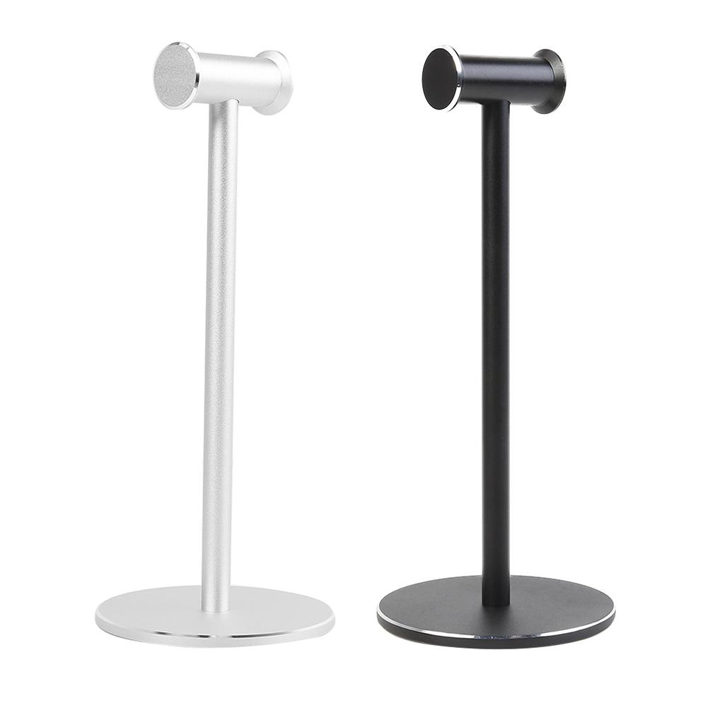 Portable Aluminum Alloy Headphone Desktop Stand Hanger Head Mounted Hook Durable Non-slip Earphones Display Holder Accessories