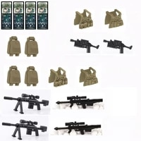 special forces military vest soldier tactical sniping guns weapons swat building blocks moc brick figures toys children city