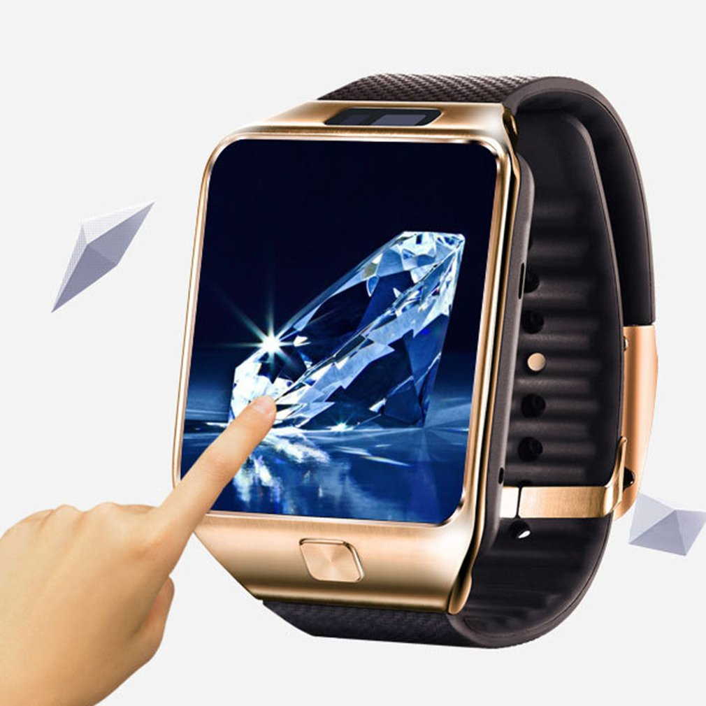 Chamada de Telefone Câmera para Iphone para Samsung Crianças Adulto Relógio Inteligente Smartver Dz09 Android 2g Gsm Sim tf Cartão