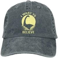 believe in nessie vintage cowboy baseball caps trucker hats