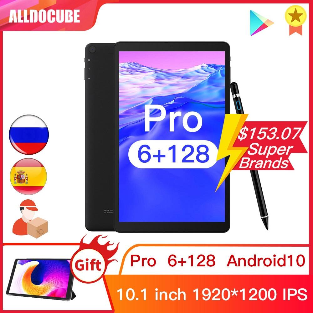 ALLDOCUBE iPlay20 Pro 10.1 بوصة أندرويد 10 كمبيوتر لوحي 6GB RAM 128GB ROM 9863A أجهزة لوحية 4G LTE مكالمة هاتفية iplay 20