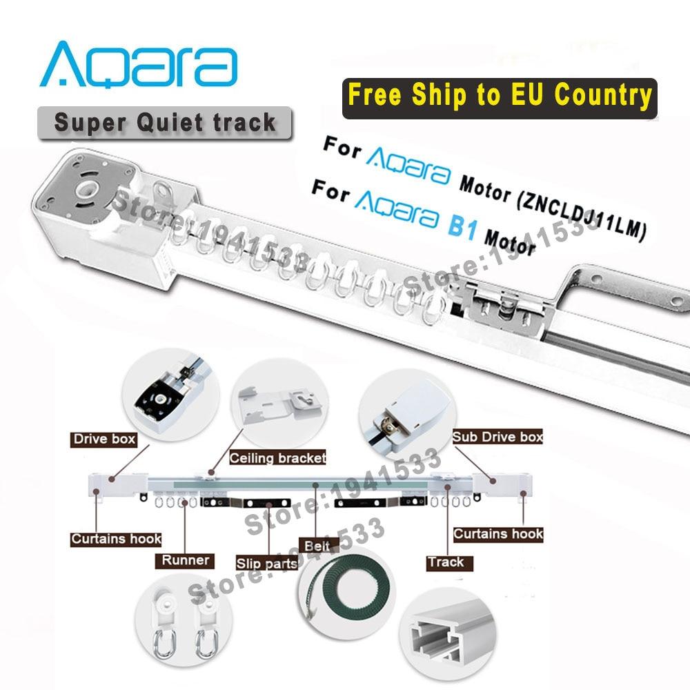 Aqara/Aqara B1Motor الستار المسار الكهربائية الذكية الستار القضبان نظام التحكم تخصيص ل Aqara/Aqara B1 الذكية محرك الستائر