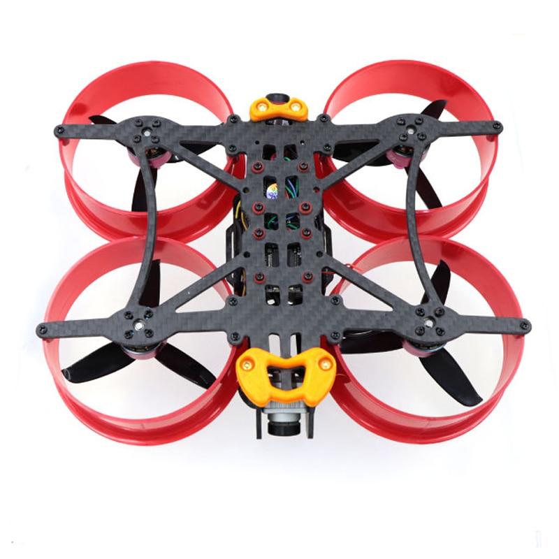 Conducto de Dron Brave HD3 150, Marco de fibra de carbono de 3 pulgadas para DJI FPV, unidad de aire RC FPV Racing 20x20 M2 30,5x30,5 M3, Control de vuelo