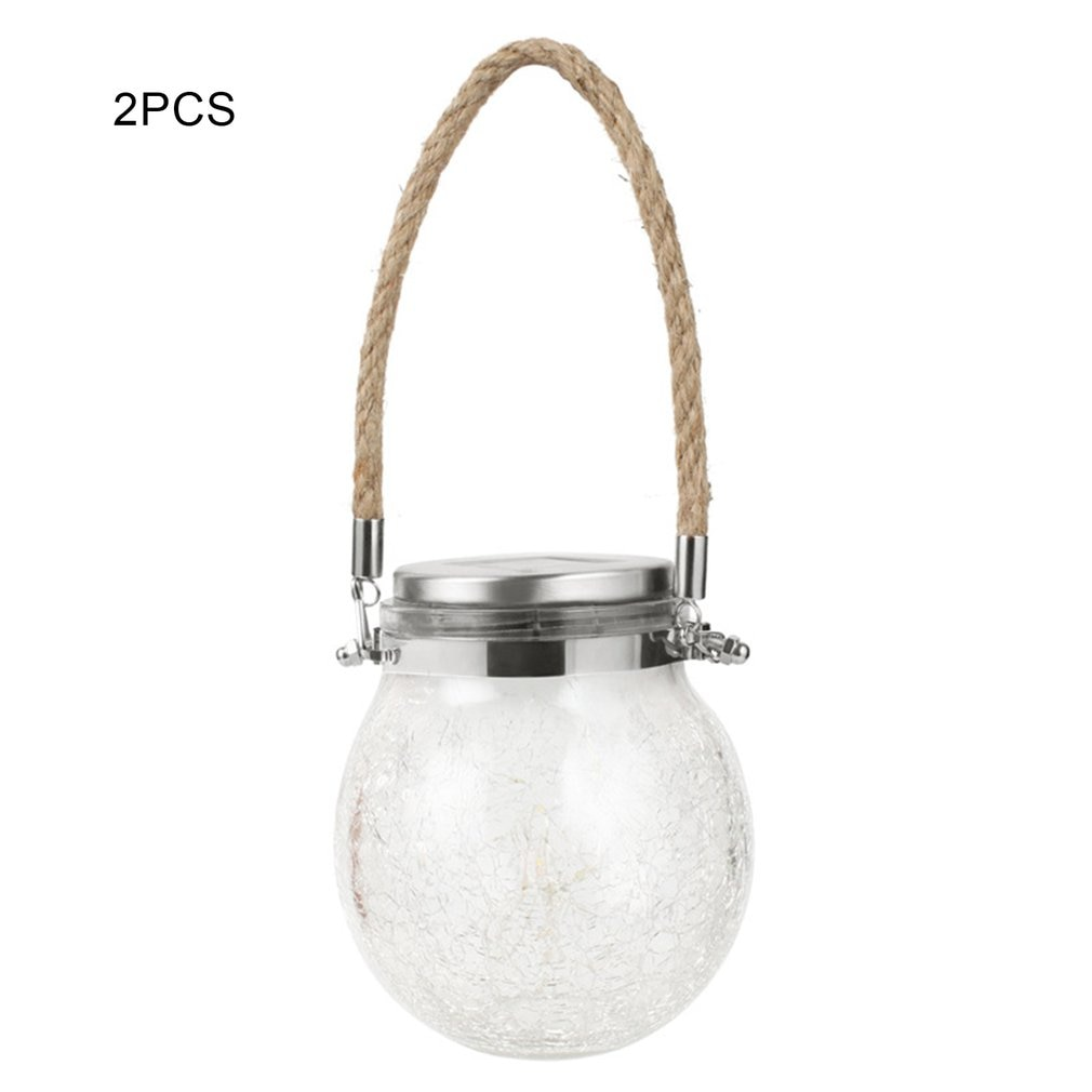 Luces de hadas solares LED alimentadas por Mason, luces para jarras para Patio exterior, fiesta, boda, jardín, Patio, lámparas decorativas para interior y exterior