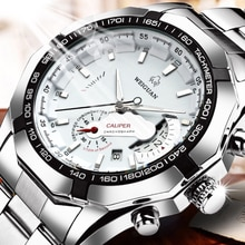 Hot Casual Sport Watches Chronograph Wristwatch Automatic business Movement Imported Mechanical Wate