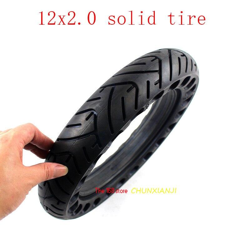 Размер 12 дюймов ненадувные бескамерные Твердые колесные шины 12x2,0 12x2,125 для многих газовых скутеров E-bike Hoverboard само BalancingParts