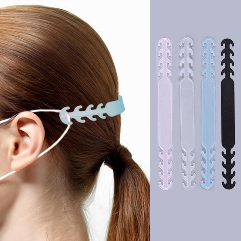 10 teile/satz Band Haken für Masken Einstellbar Erweiterung Strap für Tragen Ohren Druck & Schmerzen
