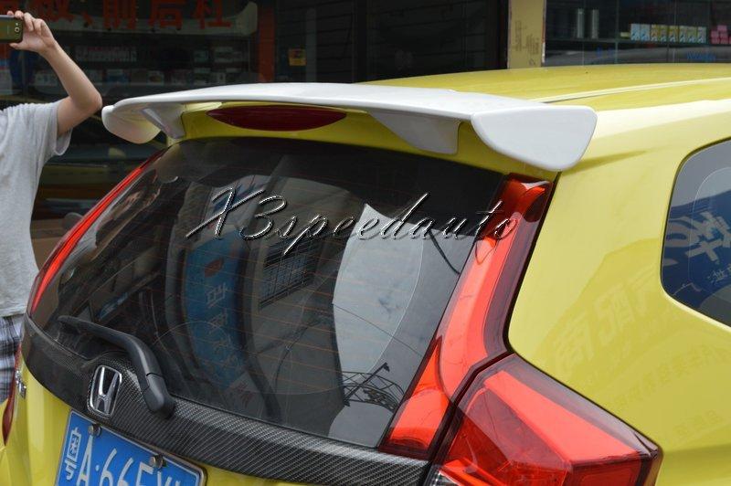 Para Honda Fit/Jazz 2014 15 Primer alerón estilo Mugen sin pintar de alta calidad