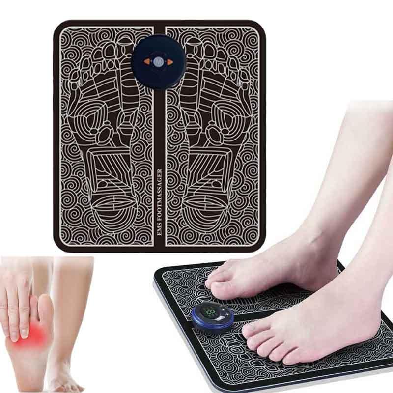 Electric EMS Foot Massage Pad Feet Acupuncture Stimulator pulsemuscle Massager feet Massage Cushion usb foot care tool machine