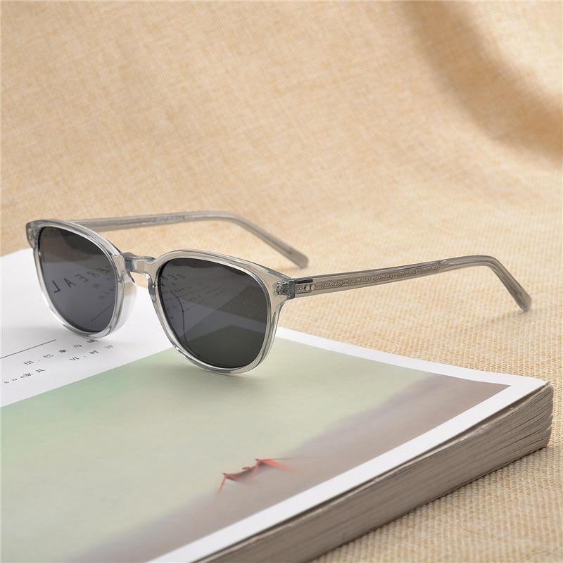 Fairmont-نظارات شمسية من الأسيتات للرجال والنساء ، نظارات شمسية ذات علامة تجارية ، شكل مستطيل ، نمط عتيق ، OV5219