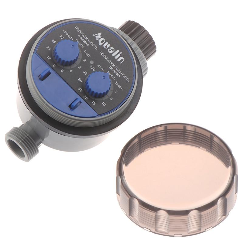 Temporizador de riego de jardín válvula de bola automático controlador electrónico de riego