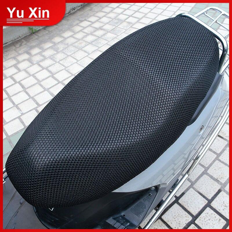 Xxxl motocicleta legal capa de assento almofada proteger protetor solar evitar bask assento sun pad à prova d3d água 3d malha acessórios da motocicleta