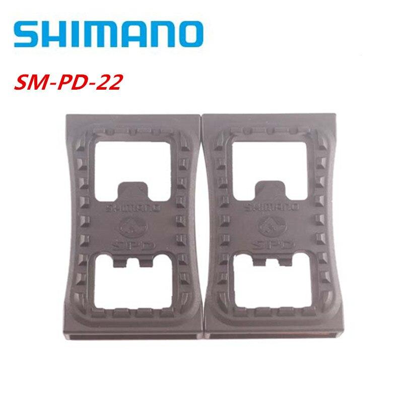 Shimano-SM-PD22 de Pedal para bicicleta de montaña, abrazadera plana SPD, PD-22 para...