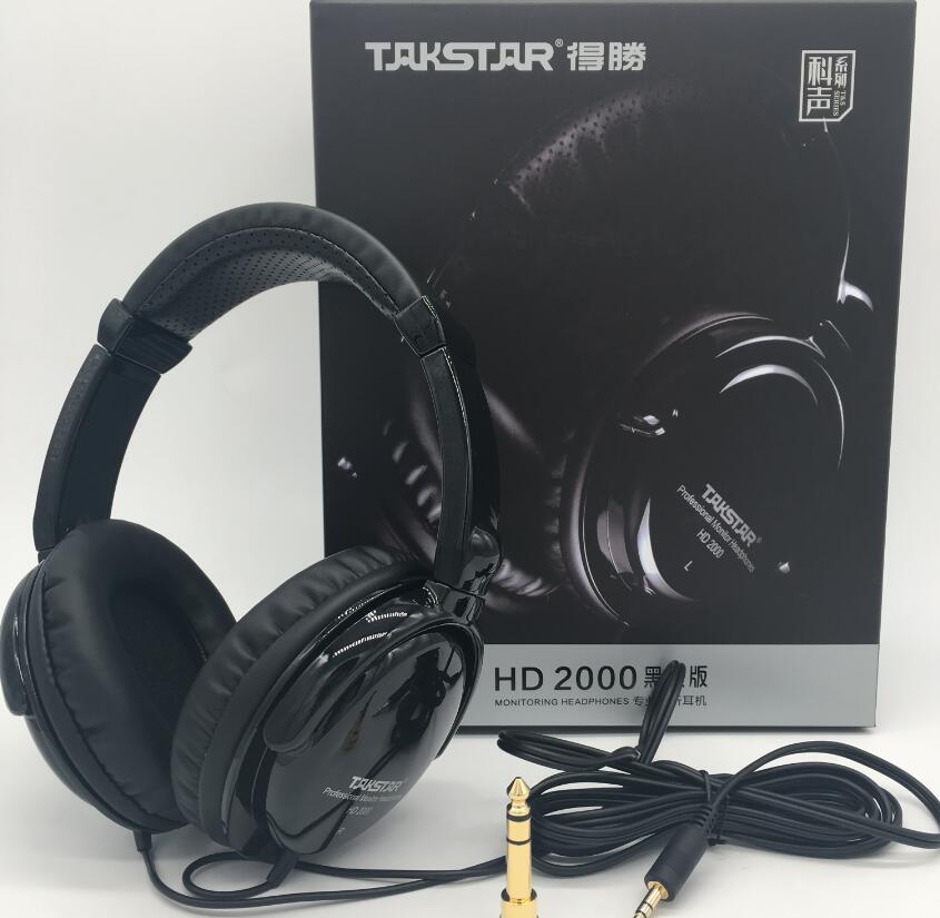 HIFI Professional monitor headphones for dj earphone mixing recording for recording studio dedicated HD2000 earphone music m enlarge