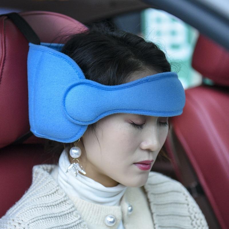 Car Seat Adult Head Restraint Belt Baby Car Head Restraint Belt Child Safety Seat Head Sleep Aid Bel