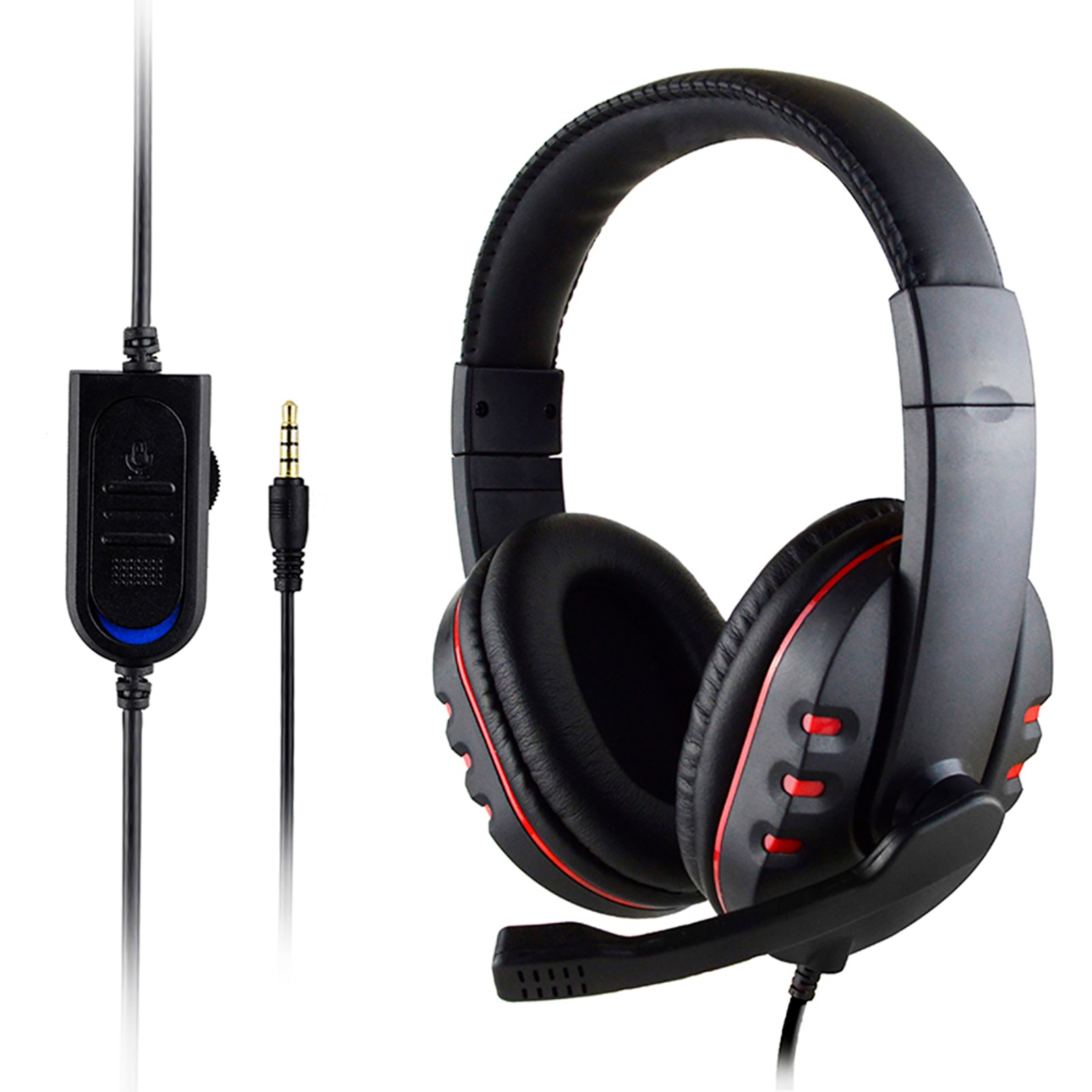 Hi-Fi Gaming Headset 2020 Computer Portable Headphones with Microphone For PC PS4 Xbox One Mobile enlarge