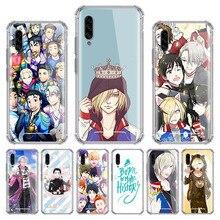 Anime YURI on ICE Case for Samsung Galaxy A70 A50 A90 A40 A30s A20 A20e A10 A70s A50s Airbag Anti-Fall Phone Covers