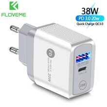 FLOVEME Phone Charger PD20W Quick Charge for iPhone12 11 USB Charger For Xiaomi 11 Samsung Glaxy S20 S10 Mobile Phone Charger
