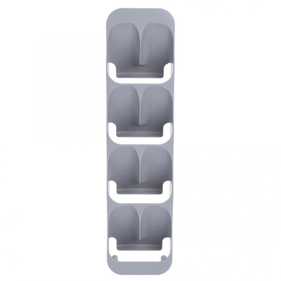 Caja de almacenamiento de 8 rejillas organizadoras Hosehould suministros de cocina Grill BBQ