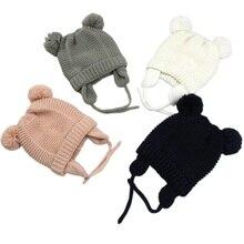 Gorros de invierno para bebé, gorros para niño y niña de 0 a 2 años, 3 tamaños, KF744