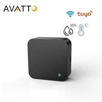 AVATTO     Mini telecommande WiFi IR S06  pour climatiseur TV  domotique intelligente  universelle  pour Alexa Google Home